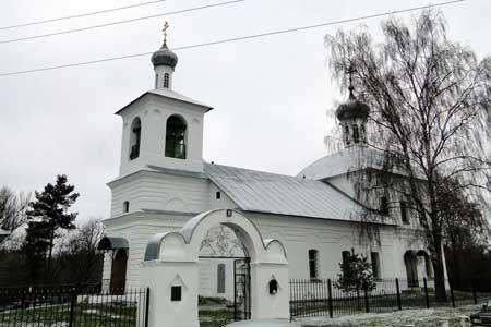Вознесенский храм в селе Тархово Клинского благочиния