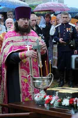 Водосвятный молебен в Шипулино Клинского благочиния