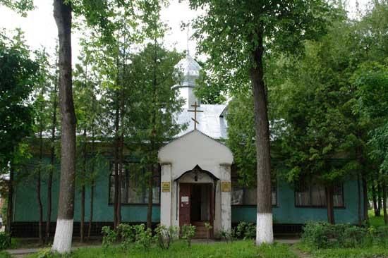 Клинский храм страстотерпца царевича Алексия в г. Высоковске
