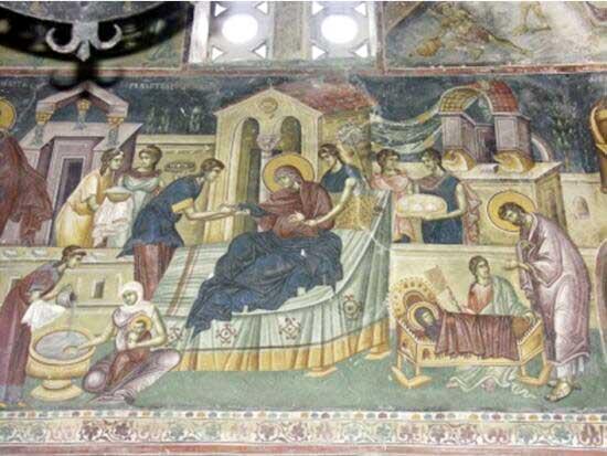 Икона Рождества Пресвятой Богородицы - Слово