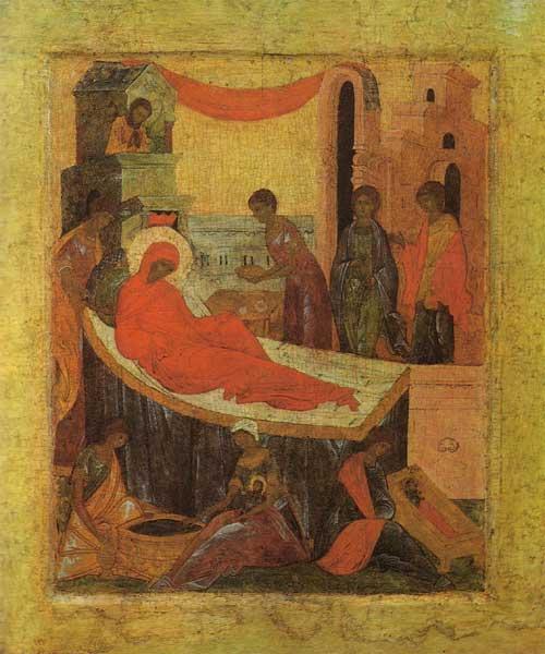 Икона Божьей Матери «РОЖДЕСТВО БОГОРОДИЦЫ